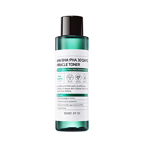 SOME BY MI Aha.Bha.Pha 30Days Miracle Toner 150ml (5oz) Anti-acne Exfoliation Hydration Brightening (Best Aha Bha Serum)