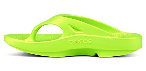 Oofos Infradito Oofos Ooriginal Infradito Citron Unisex RqaECnxw5