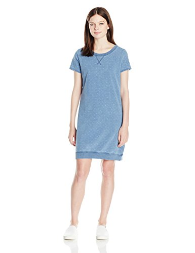 Argyle Jumper - U.S. Polo Assn. Junior's Short Sleeve Argyle Pindot Sweatshirt Dress, M