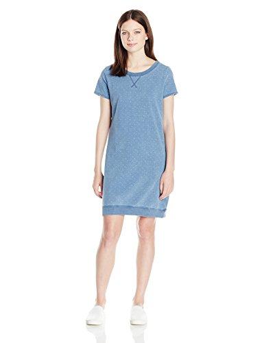 U.S. Polo Assn. Junior's Short Sleeve Sweatshirt Dress, Argyle Pindot, (Argyle Polo Dress)