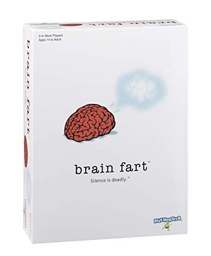 PlayMonster Brain Fart - The Party Game Where Silence is Deadly! JungleDealsBlog.com