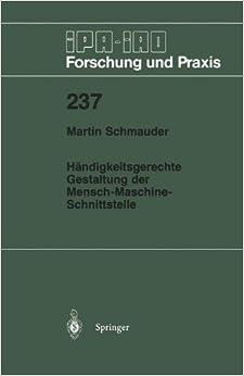 Book Händigkeitsgerechte Gestaltung der Mensch-Maschine-Schnittstelle (IPA-IAO - Forschung und Praxis)