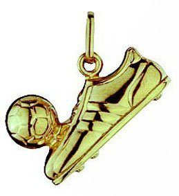 14k yellow gold 3d football boot charm pendant 19mm 207017 14k yellow gold 3d football boot charm pendant 19mm 207017 aloadofball Image collections