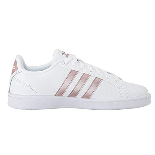 adidas Performance Women's CF Advantage W, White/Vapour Grey/White, 9 M US (Womens Addidas Tennis Shoe)