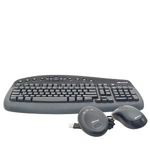 microsoft wireless optical desktop 1000 keyboard mouse computers accessories. Black Bedroom Furniture Sets. Home Design Ideas