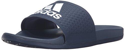 Adidas Prestanda Mens Adilette Cf Ultra C Athletic Sandal Kollegialt Marinblå / Vit / Kollegialt Marinblå