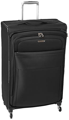 Samsonite Eco Lite Spinner Carry-On Luggage Large Black Travel Bag