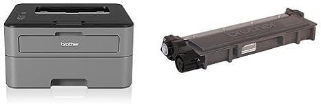 Brother HLL2340DW - Impresora láser monocromo (Wi-Fi, 26 ppm ...