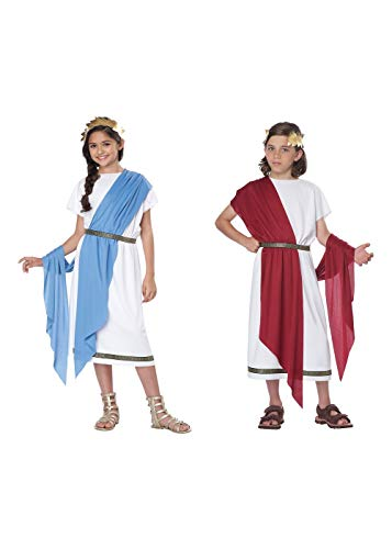California Big Girls' Basic Toga Kid