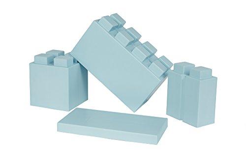 EverBlock Modular Building Blocks Combo Pack, Light Blue 29 Block