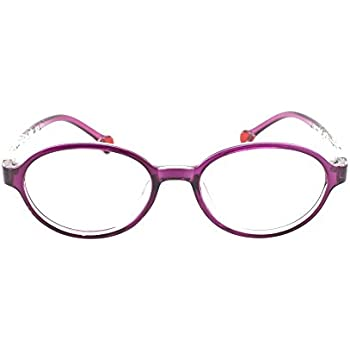f0bff34f38 EyeBuyExpress Prescription Boys Girls Violet Clear Cool Childrens Reading  Glasses Anti Glare Quality +1.00