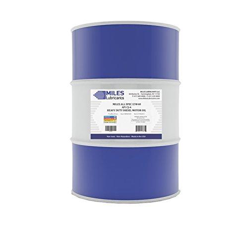 Miles All Spec 15W40 API CJ-4 Heavy Duty Diesel Motor Oil 55 Gallon Drum by MILES LUBRICANTS