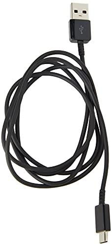 SAMSUNG Cable Original Galaxy S8 y S8 Edge con USB-C Modelo ep-dg950cbe Negro Black en Bulk