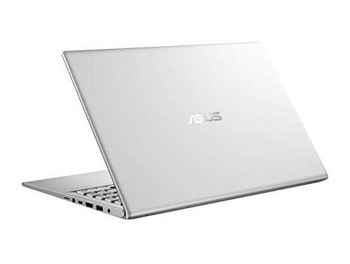 ASUS VivoBook 15 X512DA-EJ501T AMD Quad Core Ryzen 5-3500U 15.6-inch FHD Thin and Light Laptop (8GB RAM/512GB NVMe SSD/Windows 10/Integrated Graphics/FP Reader/Backlit KB/1.60 Kg), Transparent Silver