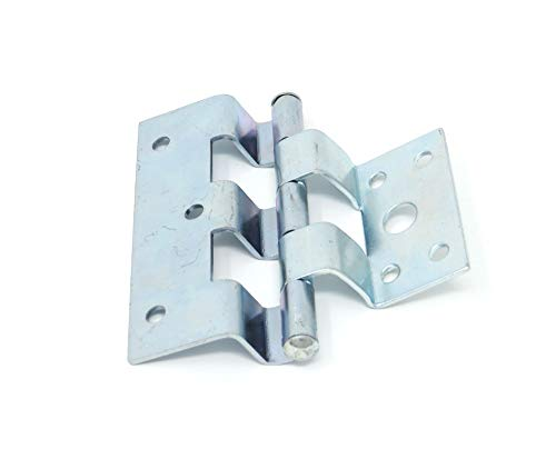 Suncoast Hardware Zinc Plated Steel Offset Trailer/Mobile Home Combination Door Hinge - Pack of 3