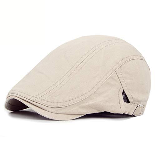 GLLH Pato de Boinas Gorras hat de Hombre Sombreros Sombreros lenguas qin Mujer de de B sólido D Color w0grxq108
