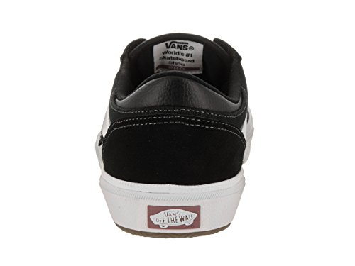 White Crockett Pro' White Black Vans 2 Gilbert Black q7cwBz