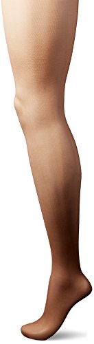 L'eggs Women's Silken Control Top Toe Panty Hose, Soft Brown, B (Soft Womens Pantyhose)