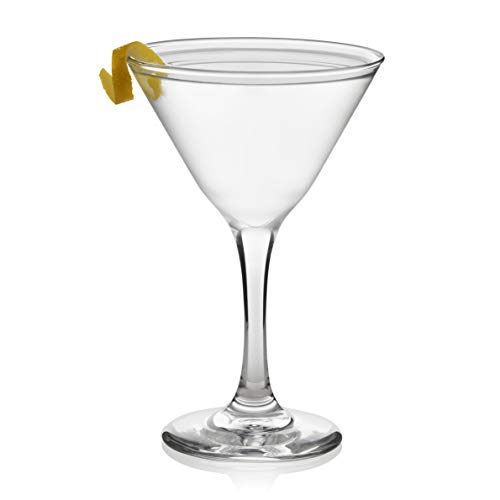 Libbey 3733S12 Martini Party Glasses, Set of 12, 6.375