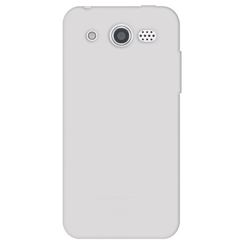 M886 Silicone (Amzer Silicone Skin Jelly Cover Protector Case for Huawei Mercury M886 - Retail Packaging - Transparent White)