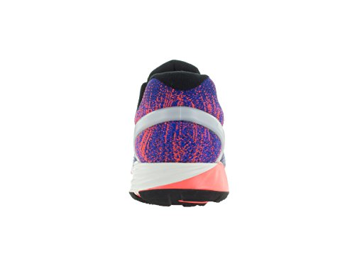 Nike Lunarglide 7 Flash, Zapatillas de Running para Hombre Azul / Plateado / Rojo (Dp Ryl Bl / Rflct Slvr-Ttl Crmsn)