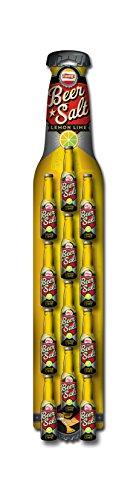 Twang Lemon-Lime Flavored Salt, Beer Salt Clip Strip, Citrus Dressed Beer, 1.4 Ounce Mini Bottles, 12 Count ()