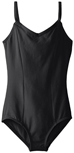 (Capezio Big Girls' Classics Princess Camisole Leotard, Black, Medium)