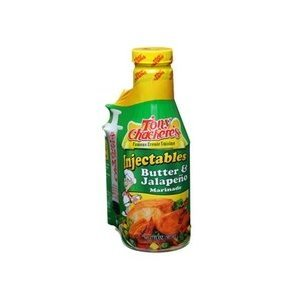 Spicy Marinade Butter (Tony Chachere's Butter & Jalapeno Injector Marinade (4 PACK))