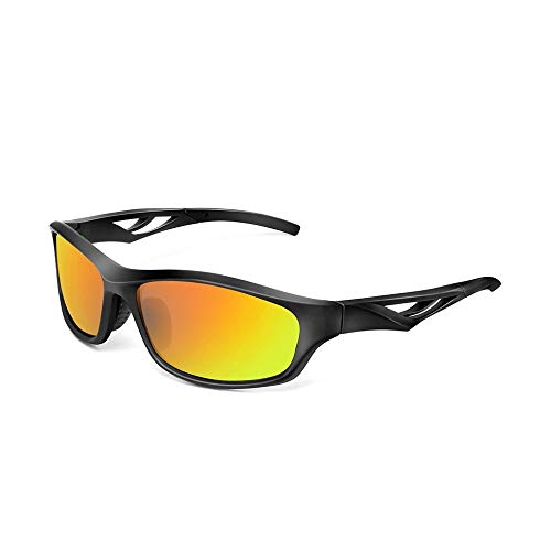 (Sport Sunglasses Polarized Fitness Hiking Anti Blue Ray Outdoor Sports)