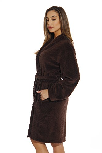 6312-Brown-L Just Love Kimono Robe / Bath Robes for Women by Just Love (Image #1)