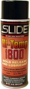 SLIDE HI-TEMP 1800 Mold release and lubricant with Boron Nitride by - Release Lubricants Mold
