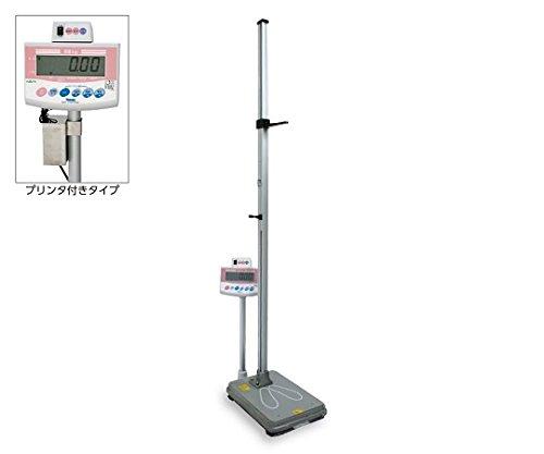 ナビス(アズワン)0-3510-36手動式身長計付き体重計[検定付]IOH-1Mプリンタ付き B07BD2PQBH
