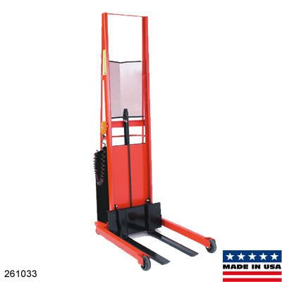 Wesco-261033-PESFL-76-30S-Straddle-Fork-Model-Powered-Stackers-76-lift-height