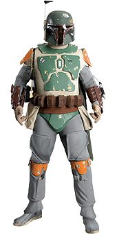 [Rubies Star Wars Supreme Edition Adult Boba Fett Costume - X-Large | 909863] (Codpiece Costumes)