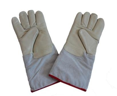 KRL Liquid Nitrogen Cryogenic Protective Gloves 13.75'' (35cm) long