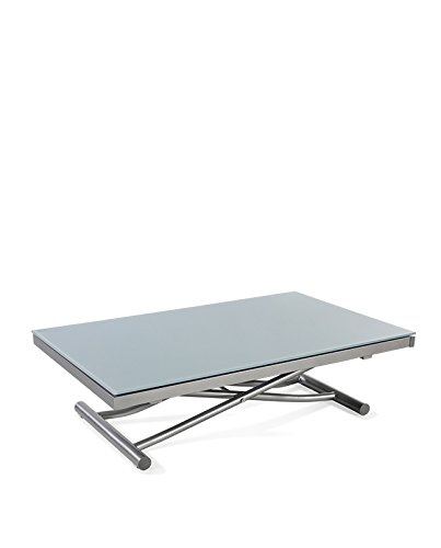 Square Mesa Baja elevable y Extensible con 2 allonges internos DS ...