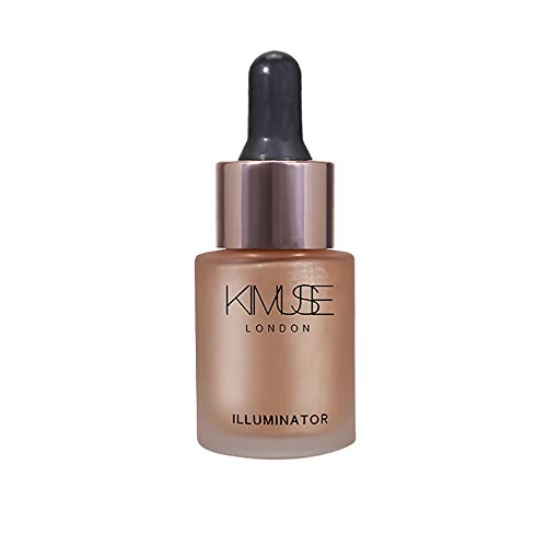 Chenchen Itd Baked Powder,Sexy Beauty Shimmer Liquid Brighten Highlighter Oil Concealer Makeup Cosmetic,Face Concealer,Makeup,
