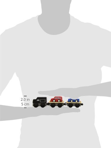 Plan Toys Plancity Push and Pull Car Carrier Train