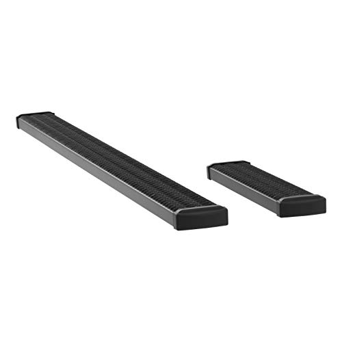 LUVERNE 415100-401474 Grip Step Black Aluminum 100-Inch, 36-Inch Cargo Van Running Boards for Select Ram ProMaster 1500, 2500, 3500