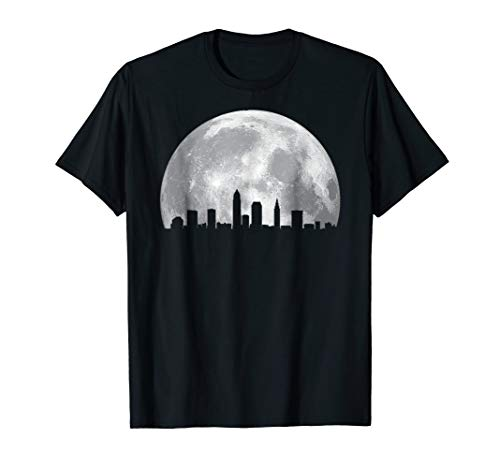 Cleveland Ohio And Moon T-shirt