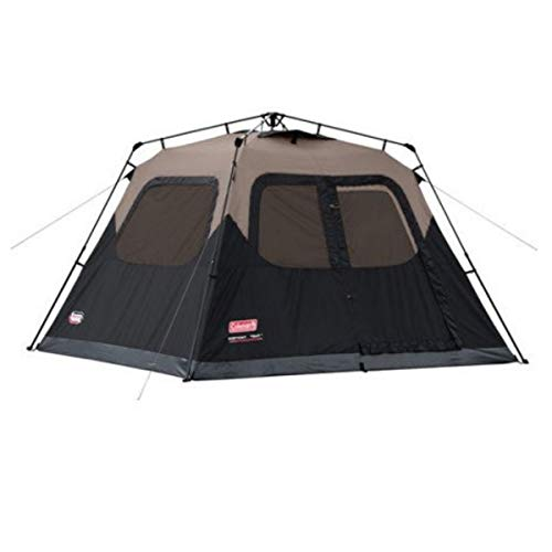 Coleman Cabin Tent with Instant Setup | Cabin Tent for Camping Sets Up in 60 Seconds (6-Person/ 2 Set)