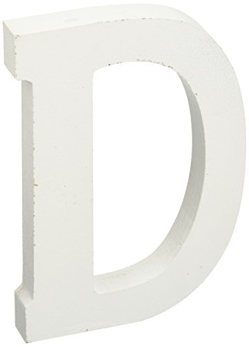 6 wood letters - 6