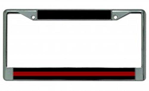 license plate frame firefighter - 8