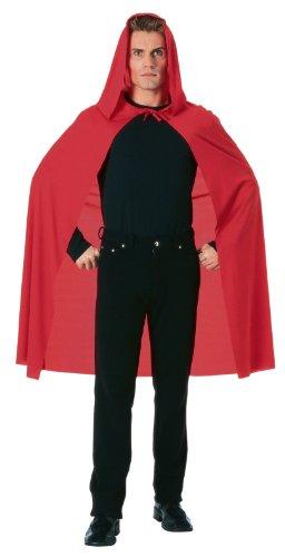Rubies Costume Hooded Cape Length