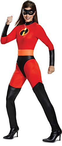 Disguise Women's Mrs. Incredible Classic Adult Costume, red, S (4-6)