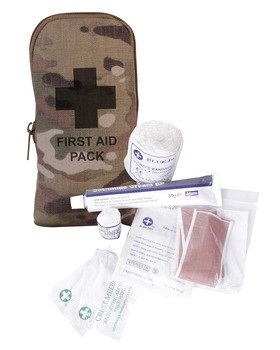 31%2B5sZYVEOL - Kombat Small First Aid Kit In Pouch Multicam