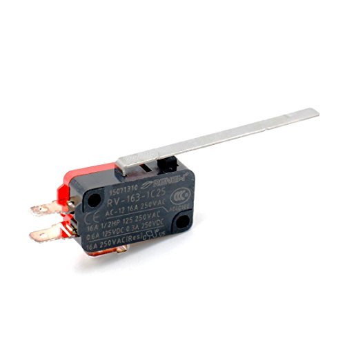 Considerate 250vac 16a Spdt 1no 1nc Long Straight Hinge Lever Mini Microswitch Green Special Buy Lighting Accessories Lights & Lighting