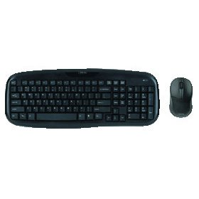 Digital Innovations Wireless Classic Keyboard W/ Optical Mouse For Right & Left Handed (Micro Innovations Wireless Optical Mouse)