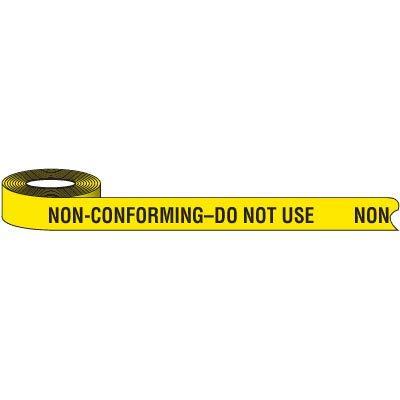 2 X 55 YDS YLW//BLK Non-CONFORMING DO