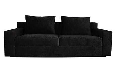 Amazon.com: Decenni Comodo Sofa Sonoma Black: Kitchen & Dining
